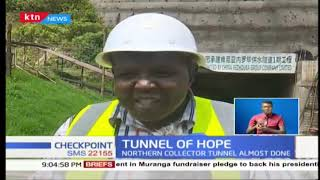 Tunnel project set to ensure 70% of Murang'a residents have tapped water