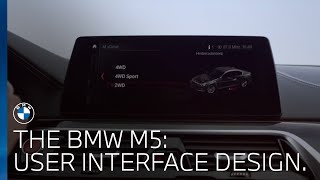 The BMW M5   User Interface Design