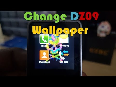 How To Change Wallpaper Of DZ09 SmartWatch
