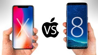iPhone X vs Samsung Galaxy S8 - Which One to Get?