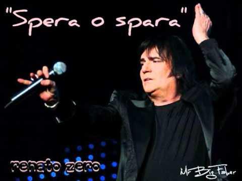 """Renato Zero - """"Spera o spara"""" (Presente '09)"""