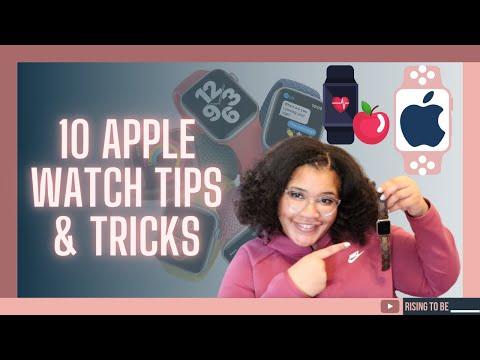 10 APPLE WATCH HACKS, Tricks & Hidden Features (Must Watch) | RisingToBe.com 💫