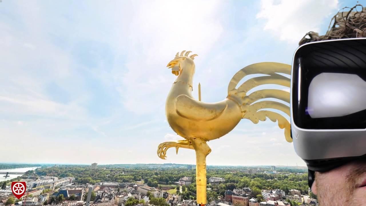 Dom@Home - VR-Brille zeigt den Mainzer Dom in 3D