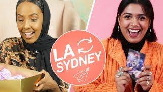 Strangers Swap Mystery Beauty Boxes • LA & Sydney