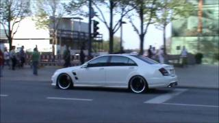 LORINSER Mercedes S63 ///AMG very loud acelleration-sounds