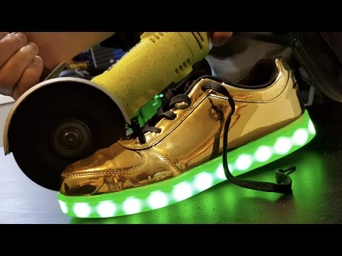 what s inside led shoes
