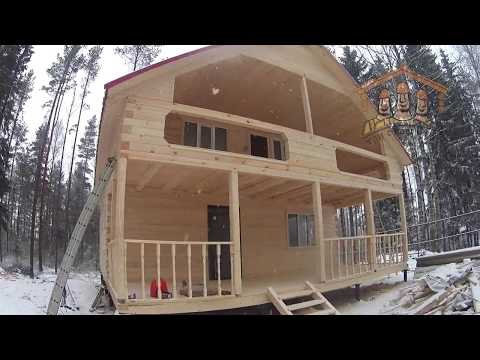 Видеообзор дома из бруса