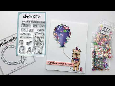 How To Make A Birthday Shaker Card