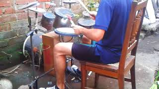 Angra - The Temple Of Hate Drum Cover