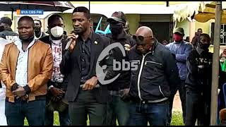 Bobi Wine acankalanyizza  okuziika  kwa Dj Emma #BBSAgeesigika