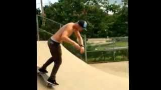preview picture of video 'Jay Jacobi skateboarding Kaneohe skatepark chee! #skatehawaii'