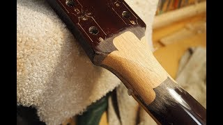 Gibson Headstock Repair