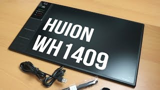 Huion WH1409 Unboxing & TEST Wireless Graphics Tablet