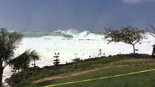 Sharks Cove - 45 Foot Waves - January 27th 2016