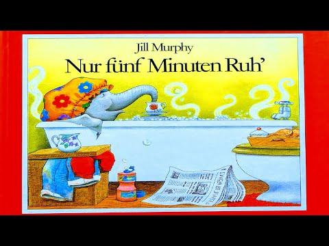 NUR FÜNF MINUTEN RUH | Kinderbuch vorlesen | Elefanten Familie Geschichte von Jill Murphy