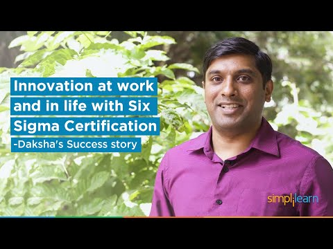 Innovation at work and in life with our Six Sigma Certification ...