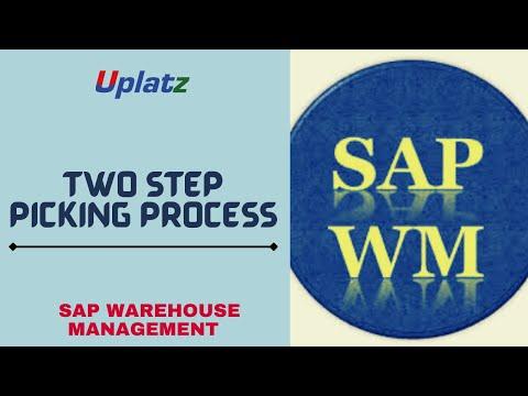 Two Step Picking Process in SAP WM  SAP WM Certification  Uplatz