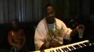 Timbo & Busta Rhymes in studio