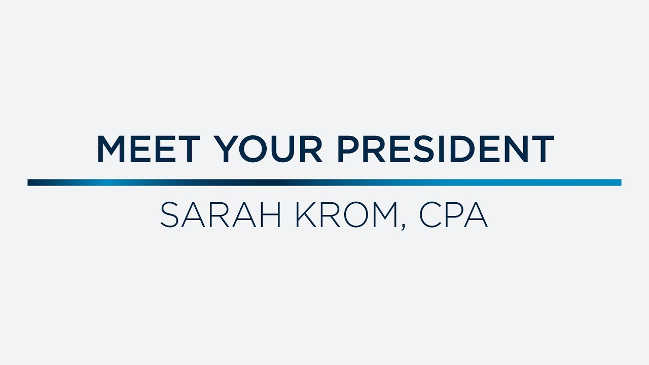 Meet Your 2018/19 NJCPA President