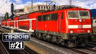 TS 2018 Freiburg - Basel: Die robuste BR 111!   Train Simulator 2018 #21 deutsch