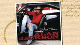 Alan Jackson - if jesus walked the world
