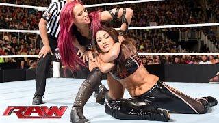 Brie Bella Vs. Sasha Banks: Raw, November 30, 2015