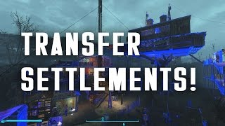 Transfer Settlements - Share Your Settlements With Your Friends