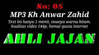 MP3 Ceramah Lucu KH ANWAR ZAHID...