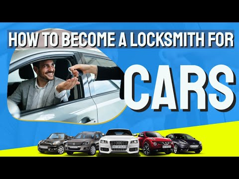 How To Become a Locksmith For Cars - YouTube