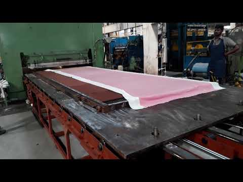 Rubber Press Mould Handling
