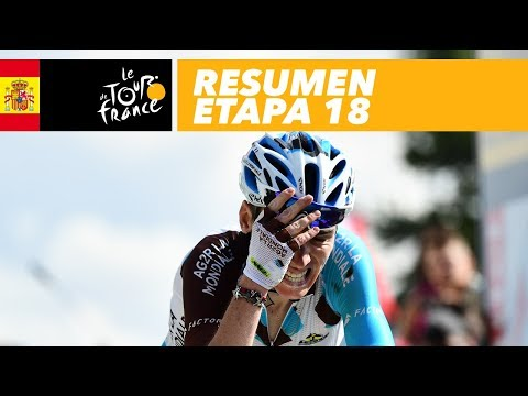 Tour de Francia 2017: Atapuma segundo en la etapa 18, Urán pierde un puesto