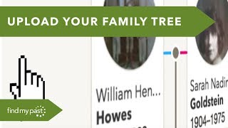 It's easy to move your family tree onto Findmypast from elsewhere