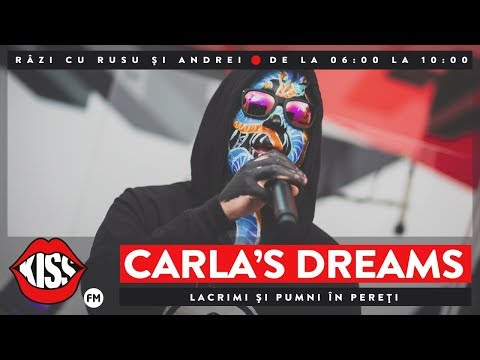 Carla S Dreams – Lacrimi si pumni in pereti [Live Kissfm] Video