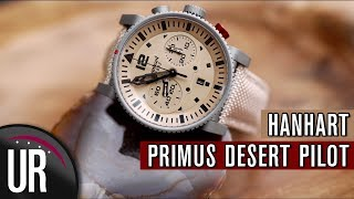 TOP DEUTSCHE UHRENMARKE: HANHART | PRIMUS DESERT PILOT | Test|Review|Deutsch