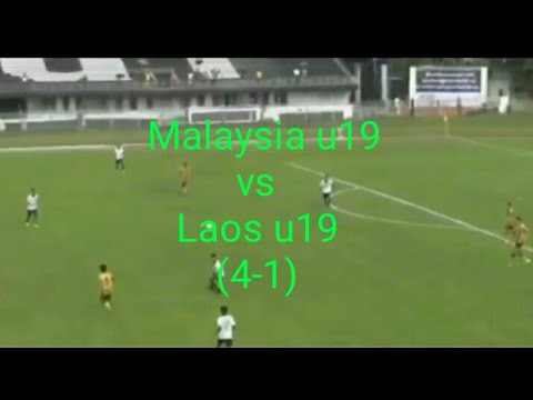 Full Highlight Malaysia U19 Vs Laos U19 (4-1)