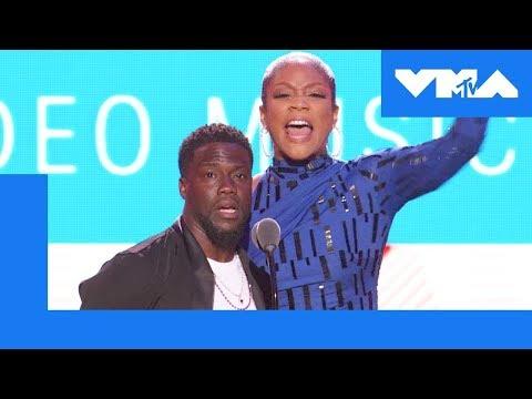 Tiffany Haddish and Kevin Hart Roast 🔥 the VMA Audience | 2018 MTV Video Music Awards (видео)