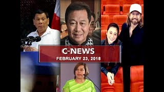 UNTV: C-News (February 23, 2018)