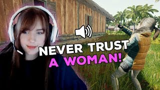 NEVER TRUST A WOMAN! - PUBG Funny Voice Chat Moments Ep. 6