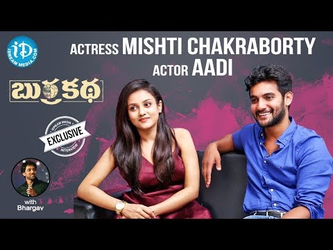 Burrakatha Team Exclusive Interview | Aadi | Mishti Chakraborty |Talking Movies With iDream