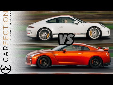 Porsche 911R Vs Nissan GT-R: Analogue Vs Digital - Carfection