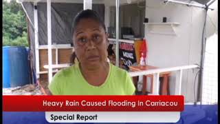 Flooding in Carriacou September 28th Special Report