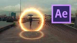 Adobe After Effects Beginner Tutorials - Doctor Strange Film Portal Effect