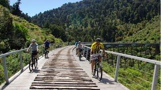 On Episode 18 of Hyundai Country Calendar, the team take a ride through The Ohakune Old Coach Road.