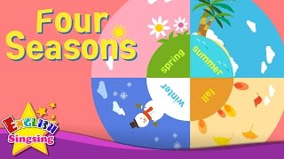 Kids Vocabulary - Four Seasons - 4 Seasons In A Year - English Educational Video For Kids
