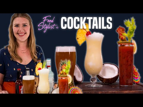How to Style Cocktails and Beer for Photo | Easy DIY Advertising Tricks for Drinks and Beverages