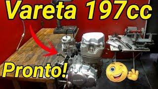 Motor 197cc Vareta Finalizado - CG Titan 2000