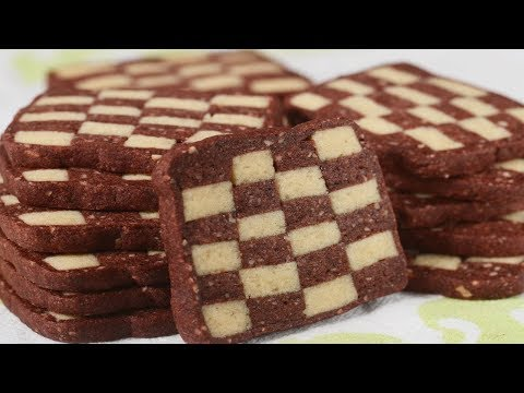 Checkerboard Cookies Recipe Demonstration – Joyofbaking.com