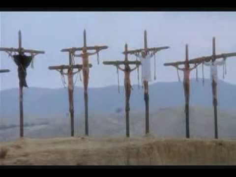 on Women cross crucified a