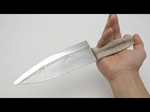 Turning Tinfoil Into a Knife