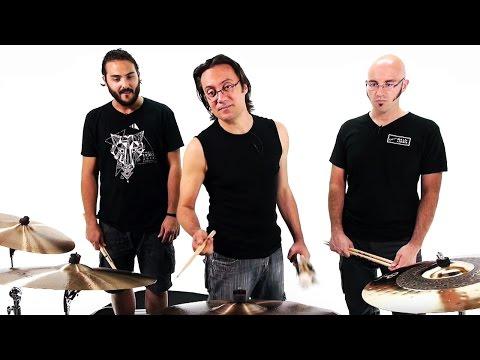 Talking Drumsticks #1 - Paiste (Duo Ride sign, Big Beat, Formula 602)
